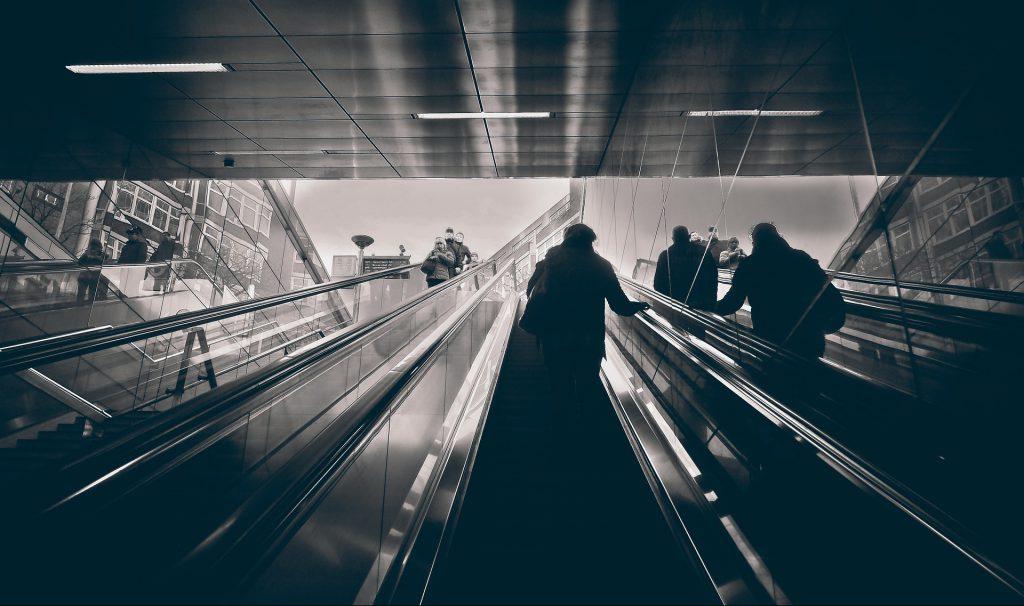 Düsseldorfer Rolltreppe für Startups